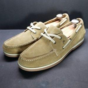 Margaritaville boat shoes, size 11.